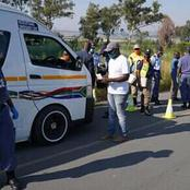 Police Made Big Arrests In Gauteng (See this)