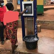 Ghanaians launch Digital Water ATM Machine, where you can pay directly before you fetching water