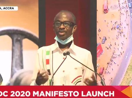Asiedu Nketsiah Makes An Extraordinary Statement About NDC's Manifesto, And NPP Must Be Concerned