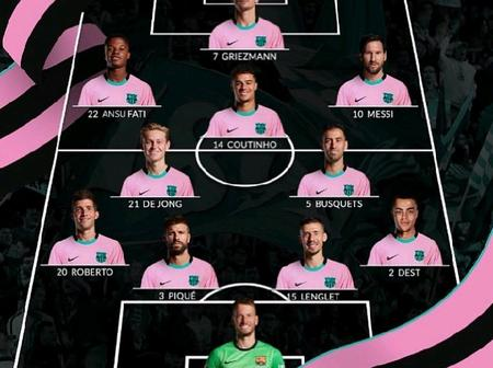 Opinion: Barca Could Trash Real Madrid At Camp Nou If Koeman Uses Any Of These 2 Lineups
