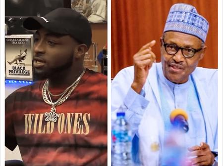 """""""Please Pray For Davido"""" - See What He posted About Buhari That May Put Him In Trouble"""