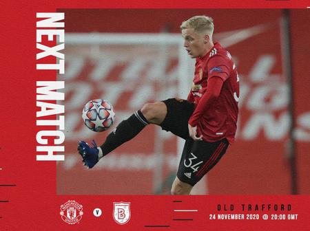 Manchester United available squad to face Istanbul Basaksehir