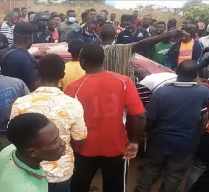 bd371b905798580bbecad165b70b2447?quality=uhq&resize=720 - Popular Mobile Money Armed Robber Arrested And Beaten Mercilessly In Kasoa Ofankor