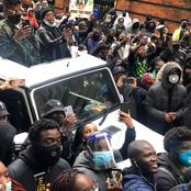See Nigerian protesters in UK protesting over killings of EndSars protesters in Nigeria.(photos)