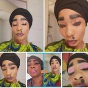 Une internaute imite le maquillage de Tina Glamour, celle-ci réagit :