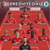 Best Manchester United Lineup Ole Gunner Could Use And Defeat Chelsea Today