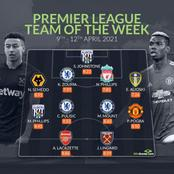 Chelsea players storms Premier league team of the week