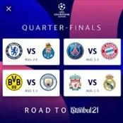 Which Team will proceed to Champions League semi-final Tonight, Chelsea or PSG