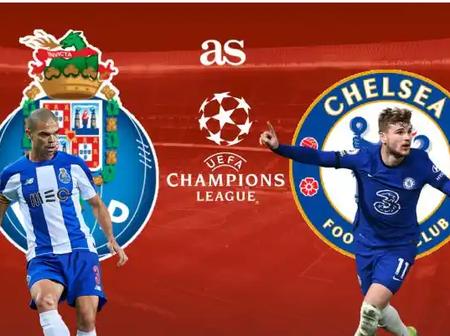 Porto versus Chelsea: Team News, How To Watch Online & Predicted Lineups