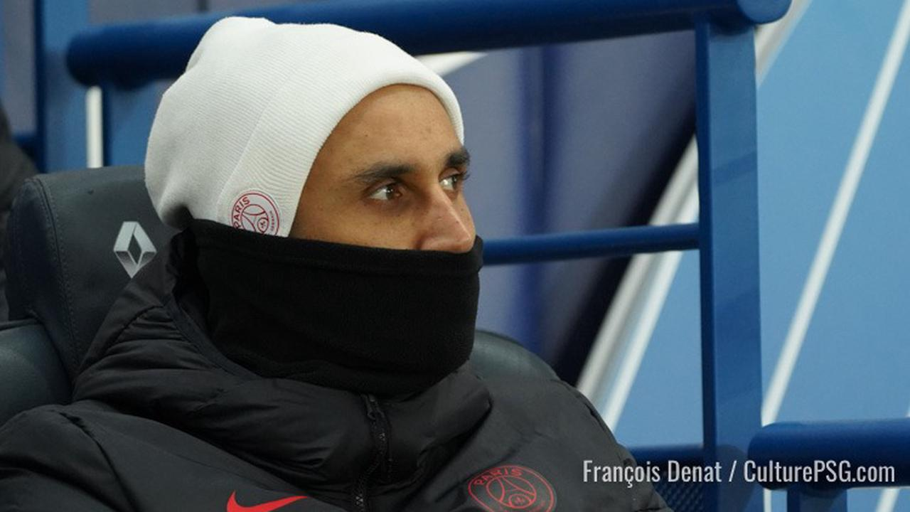 Le groupe pour PSG/Lorient aussi sans Navas
