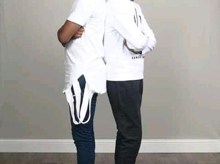 Pastor Korede Kumaiya Shares the picture of his second son who is taller than him