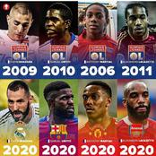 Anthony Martial, Alexander Lacazette And Other Lyon Academy Graduates