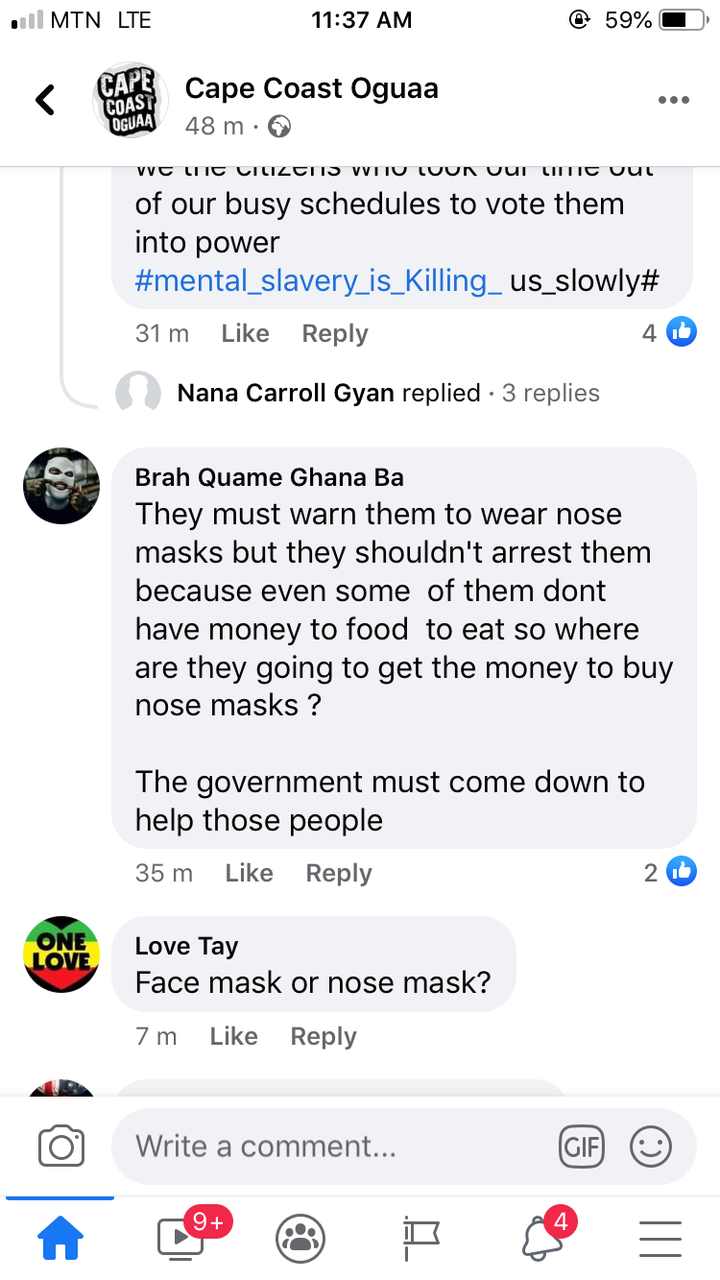 bd66c7d816434e73b14eb41807fec192?quality=uhq&resize=720 - A Number Of Persons Have Been Arrested In Cape Coast For Failing To Wear Face Mask; Ghanaians React