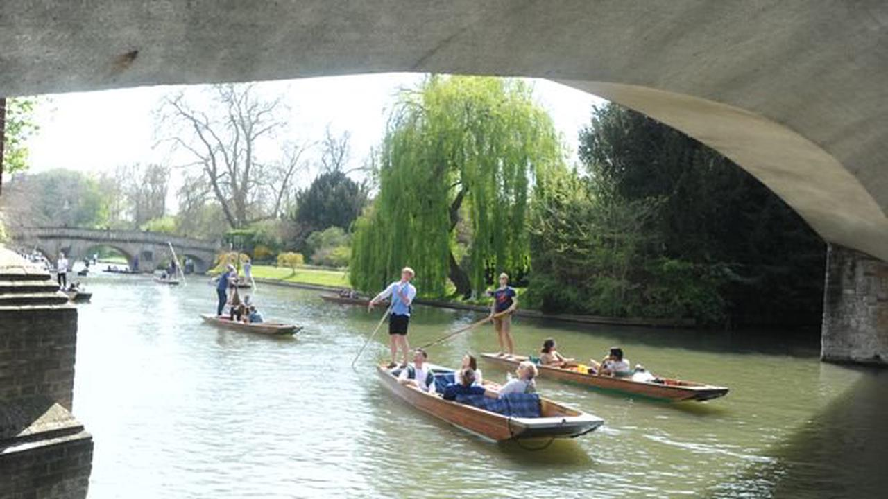 Cambridge named one of UK's hottest cities to spend the summer