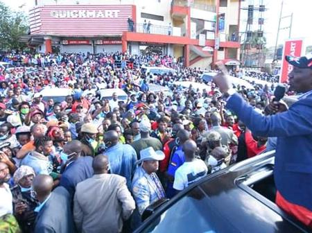 DP Ruto Destroys Raila Odinga Politically After Attacking Jubilee Government
