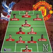 How Man United Should Lineup to Defeat Crystal Palace Today as Edinson Cavani Returns From Injury
