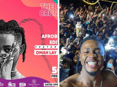 A Nigerian artist, Umar lay has been arrested in Uganda after hosting a music concert