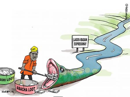 Photos: This Cartoon Speaks A Lot About Corruption In Nigeria, See What People Are Saying About It