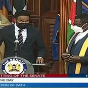 New Dawn as Abdulkadir Haji is Finally Sworn in as Garissa County Senator