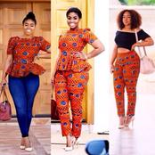 Don't Let People Tell You What To Wear; Decide For Yourself By Wearing These Nice Trousers With Tops