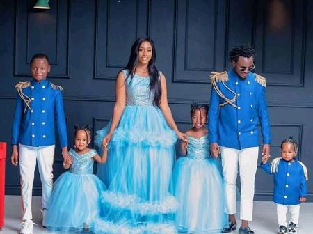 Check Out Lastest Bahati Stunning Family Photos