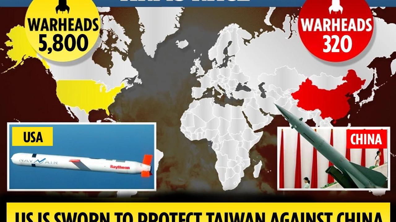 China must hit US with nuke attack before they strike if Biden defends Taiwan, says diplomat in chilling message to West