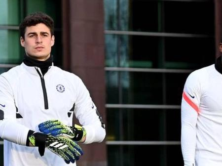 After Fighting In Training Last Week, See What Rudiger Posted About Kepa On Instagram