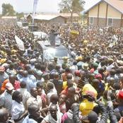Reactions As DP Ruto Receives Heroic Welcome in Endebbes, Trans Nzoia County [VIDEO]