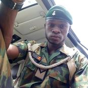 Pics : See What This Young Nigerian Soldier Said About End SARS Protests That Got Nigerians Talking