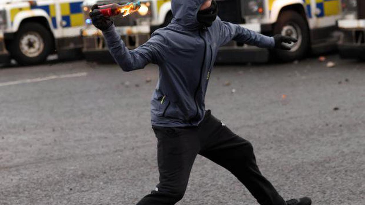Northern Ireland riots: Youths clash with police in second night of trouble in west Belfast