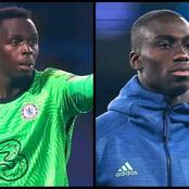 UCL: Chelsea Keeper Edouard Mendy Will Be Playing Against His Cousin When The Blues Face Real Madrid