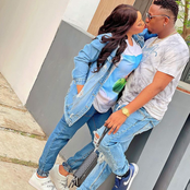 Nigerian Celebrity And Actress Stirred Reactions After She Kissed An Unkown Man In New Pictures