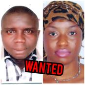 This Nigerian Man And His Wife Are Wanted By EFCC, Read What They Did