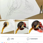 Take a look at this art posted on Facebook that has gotten alot of people talking