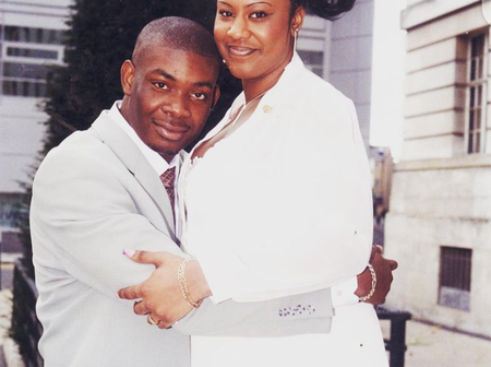 Meet Michelle, The Young Lady Don Jazzy Got Married To 18 Years Ago (Photos)