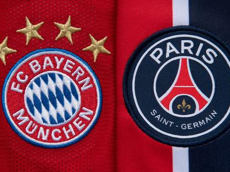 Bayern Munich versus Paris Saint Germain