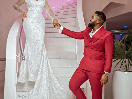 Money Is Good, See Lovely Photos Of Williams Uchemba And His Newly Wedded Wife