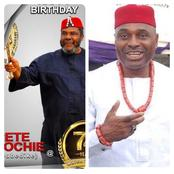 Kenneth Okonkwo sends simple message to Pete Edochie as he turns 74 years