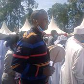 MP Aspirant Wows Sabatia Mourners With His Drum-Beating And Dance Styles In Mudungu