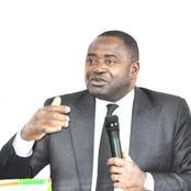 Gnamien  Konan,  candidat recalé répond à  la mission de la CEDEAO à Abidjan