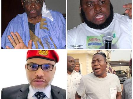 Northern Elders Fume, Read What They Asked FG To Do To Nnamdi Kanu, Igboho And Other Secessionists