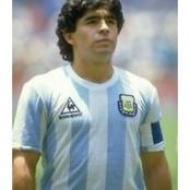 Former Argentine Supper Star, Diego Maradona, Has Joined His Ancestors
