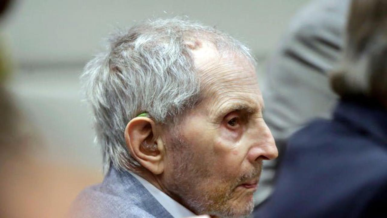 Millionaire Robert Durst found guilty of first-degree murder