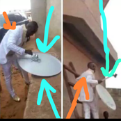 Hard work? See What Husband Did To His Wife On Their Wedding Day That Got People Talking