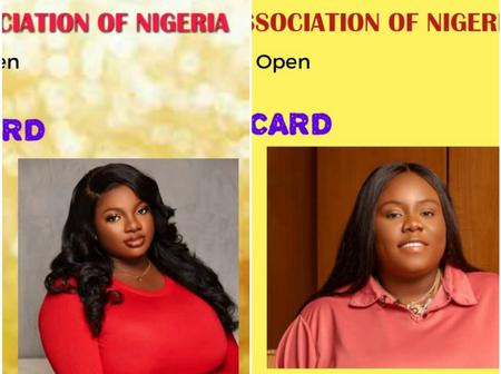 See How Dorathy And Teni Reacted To Stingy Women's ID Card Being Issued To Them