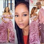Check Out Adesua Etomi's Reaction To Reports Saying She Faked Her Pregnancy