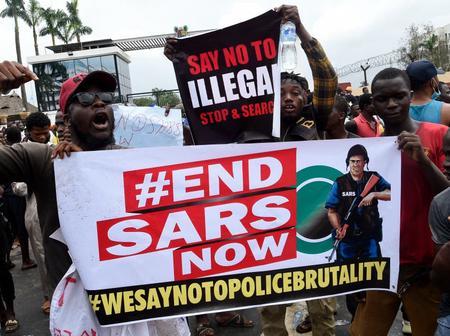 #Endsars and Nigeria's Democracy.