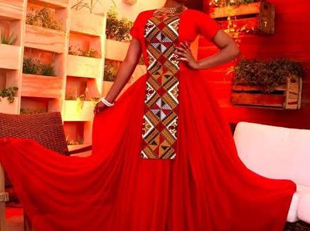 Check out Red dress styles from Yemi Alade that can serve as fashion goals