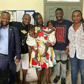 Secret Of Why Kwaku Manu And Family Didn't Wear Masks To Visit Funny Face At The Hospital Pop Out