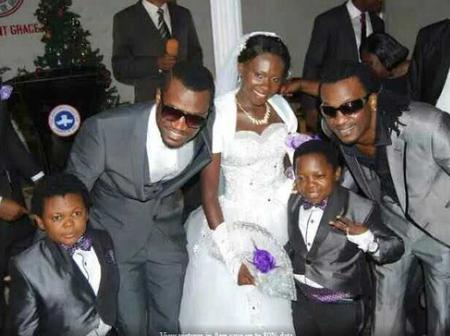 9 Years After His Marriage, See How The Nollywood Actor, Aki Looks Like Now